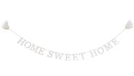 Home sweet home girlang vit slinga lantlig stil shabby chic
