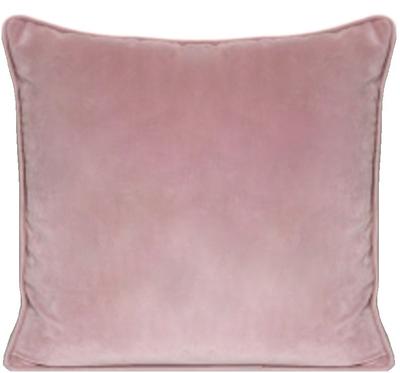 Kuddfodral Velvet dimrosa rosa sammet shabby chic lantlig stil