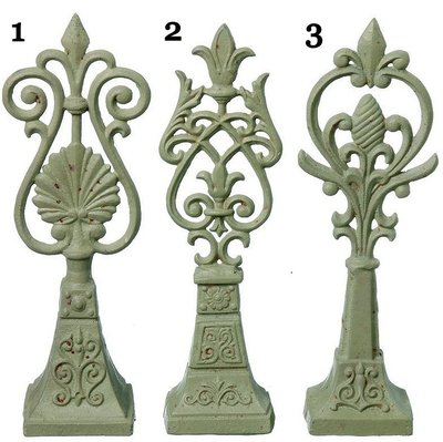 Pokal Fransk lilja gjutjärn 3 sorter