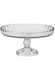 Kakfat pressglas glas uddig kant shabby chic lantlig stil