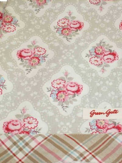 Tablecloth Gertrud Beige shabby chic country style
