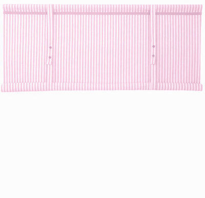 Hissgardin vit rosa randig rullgardin shabby chic lantlig stil fransk lantstil