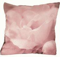 Kuddfodral stor rosa ros shabby chic lantlig stil