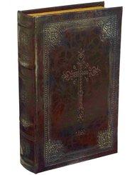 Bokbox Boklåda bokgömma gammal Bibel shabby chic lantlig stil