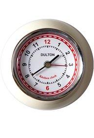 Klocka Dulton köksklocka creme retro med magnet shabby chic lantlig stil
