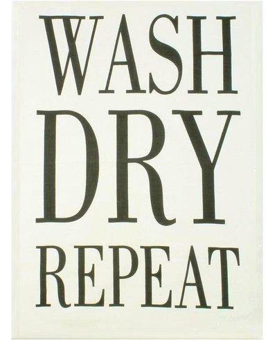Kökshandduk Wash dry repeat handduk shabby chic lantlig stil