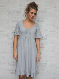 Caroline klänning vintage pistage MIEL