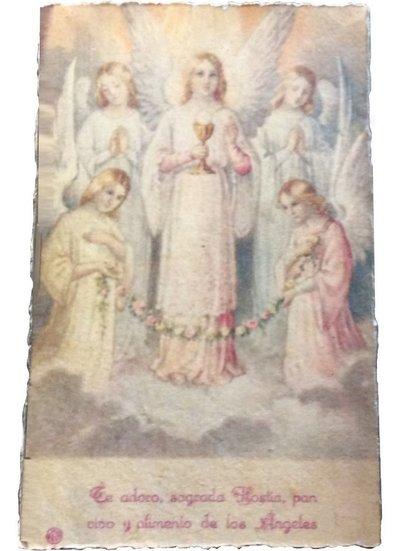 Poster Änglar handgjort papper shabby chic lantlig stil