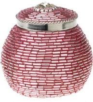 Smyckesförvaring rosa pärlor Lisbeth Dahl shabby chic lantlig stil